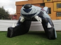 Hartford Wolfpack Custom Inflatable Entryway