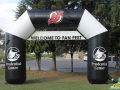New Jersey Devils Custom Inflatable Archway