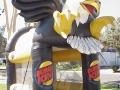 Hawks custom slap-shot