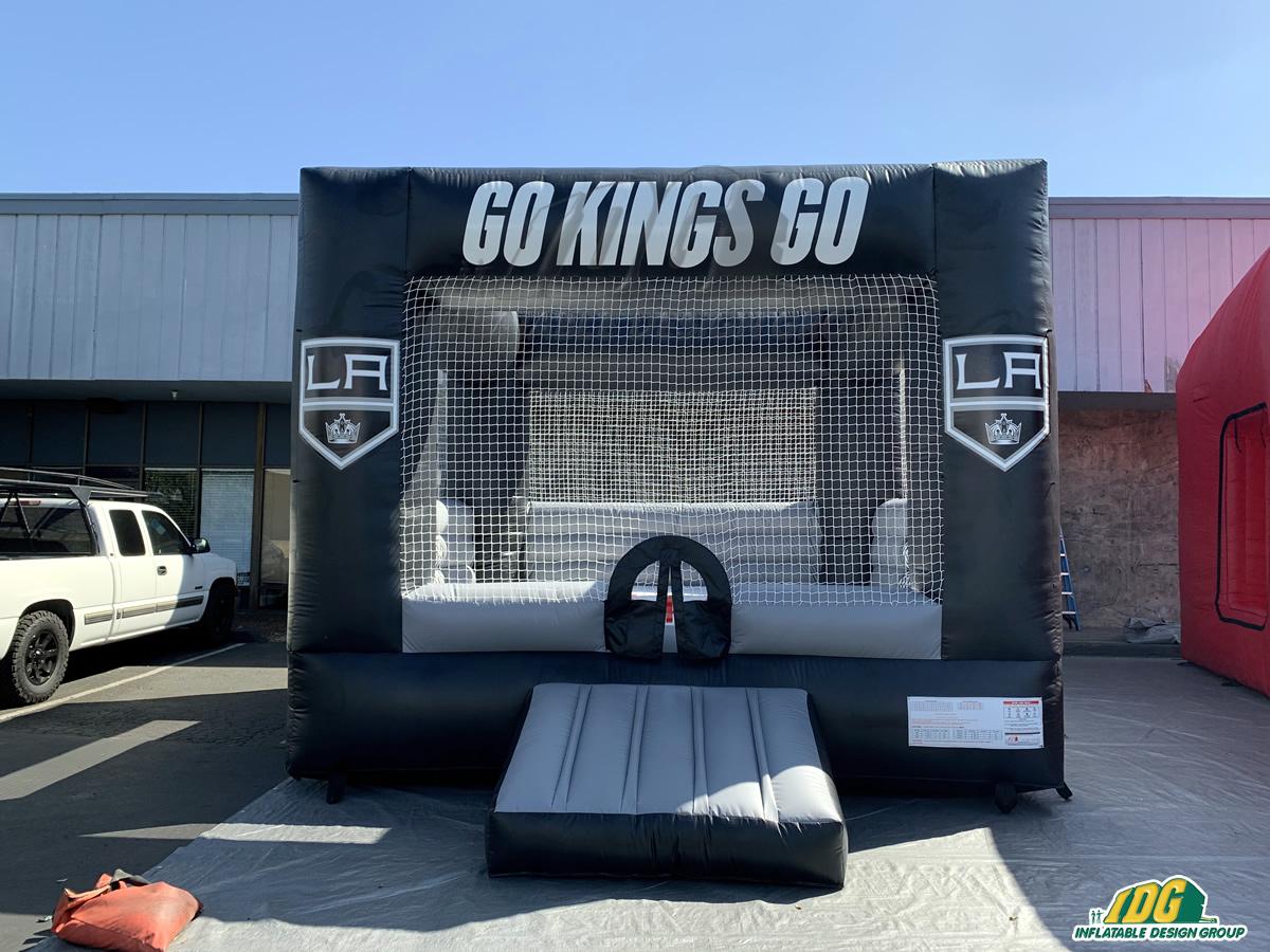 LA Kings Inflatable Hockey Bounce