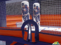 New York Islanders Inflatable Hockey Bouncer