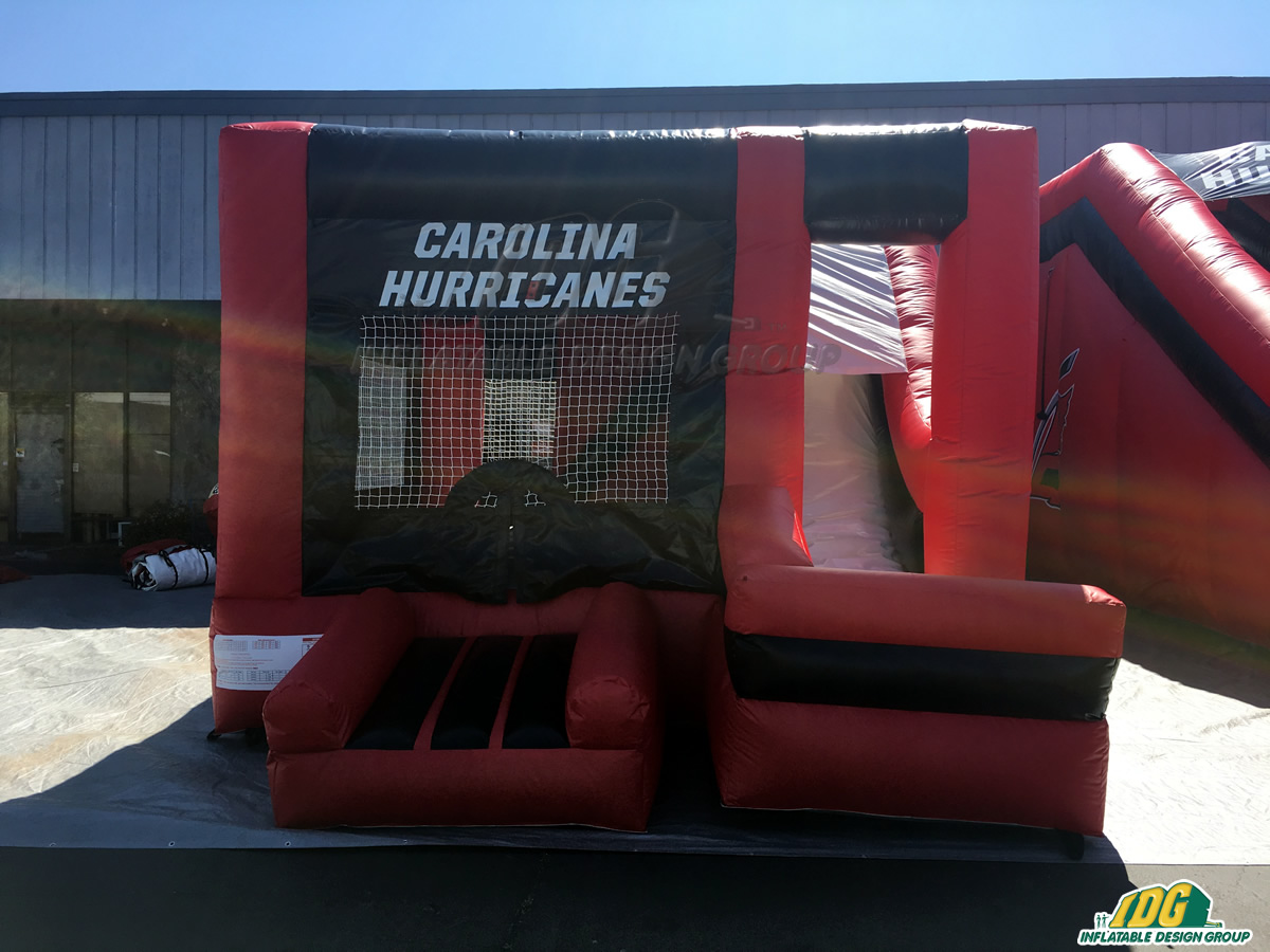Carolina Hurricanes Inflatable 3 in 1 Bouncer