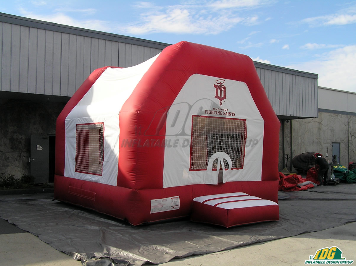 Dubuque Fighting Saints Inflatable Bouncer