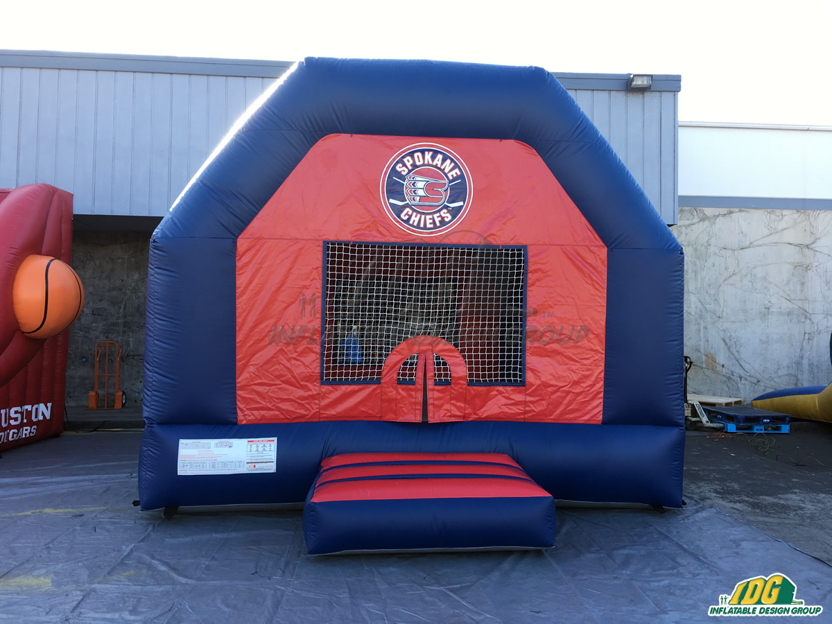 Spokane Chiefs Inflatable Bouncer