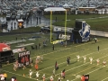 Lions Logo Tunnel In Action