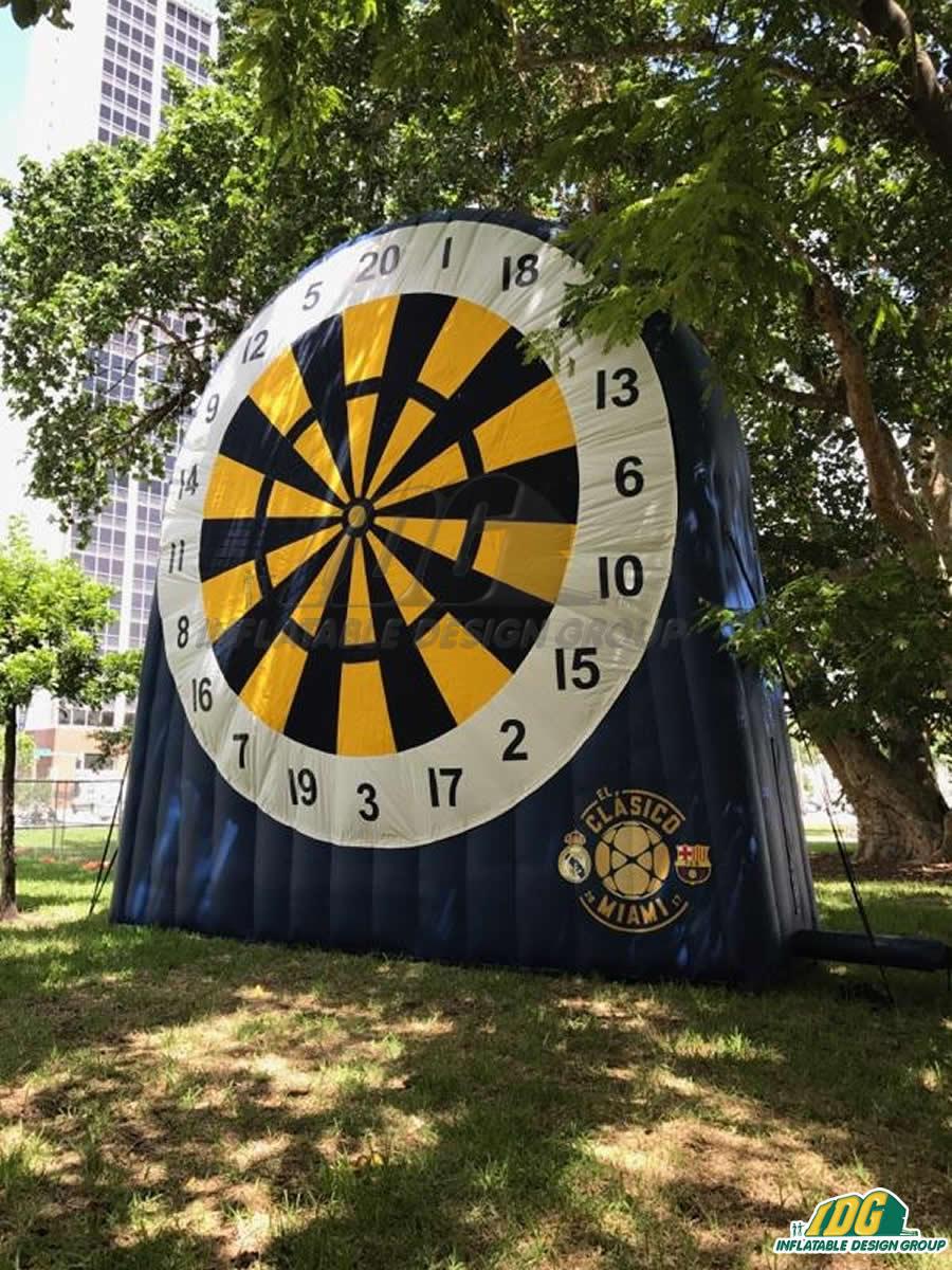 Miami Classico Soccer Dart 23'H x 23'W x 6'D