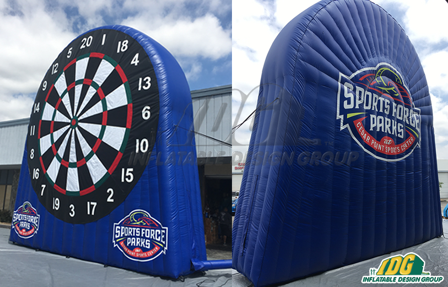 Sports Force Inflatable Soccer Darts 23'H x 23'W x 6'D