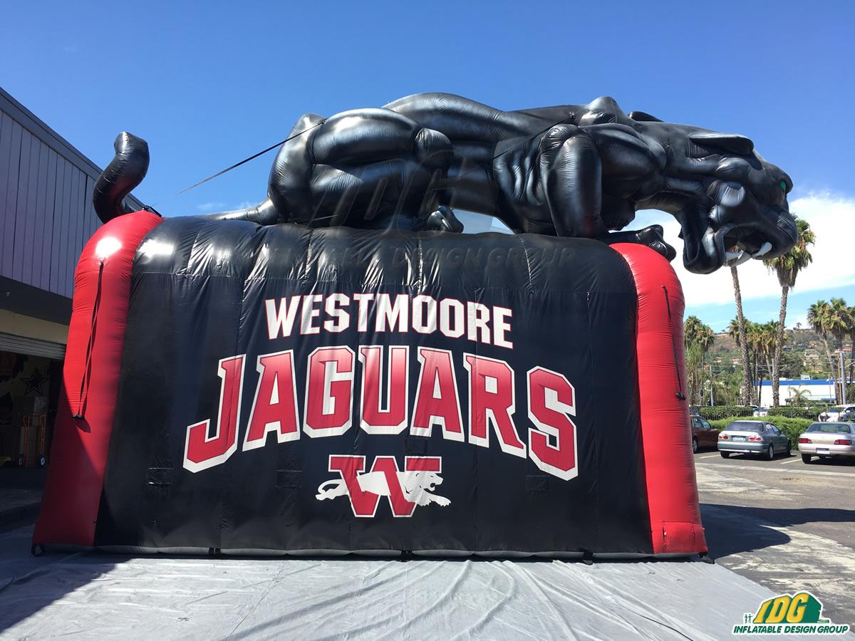 Westmoore HS Custom Inflatable Jaguar