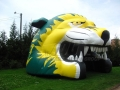 Inflatable Lion Head Side View