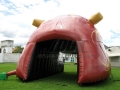 Inflatable Puma Tunnel Rear View