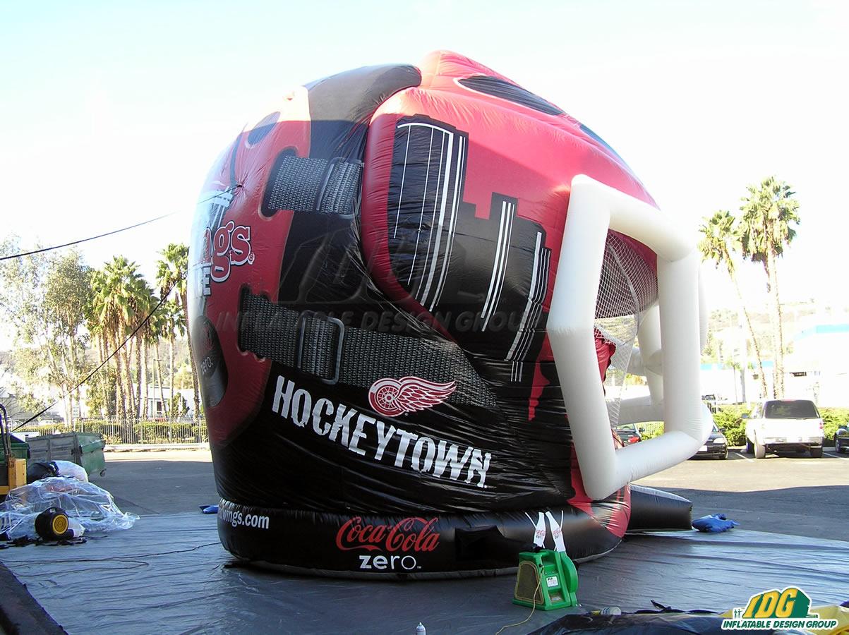 Detroit Red Wings Inflatable Helmet Bouncer