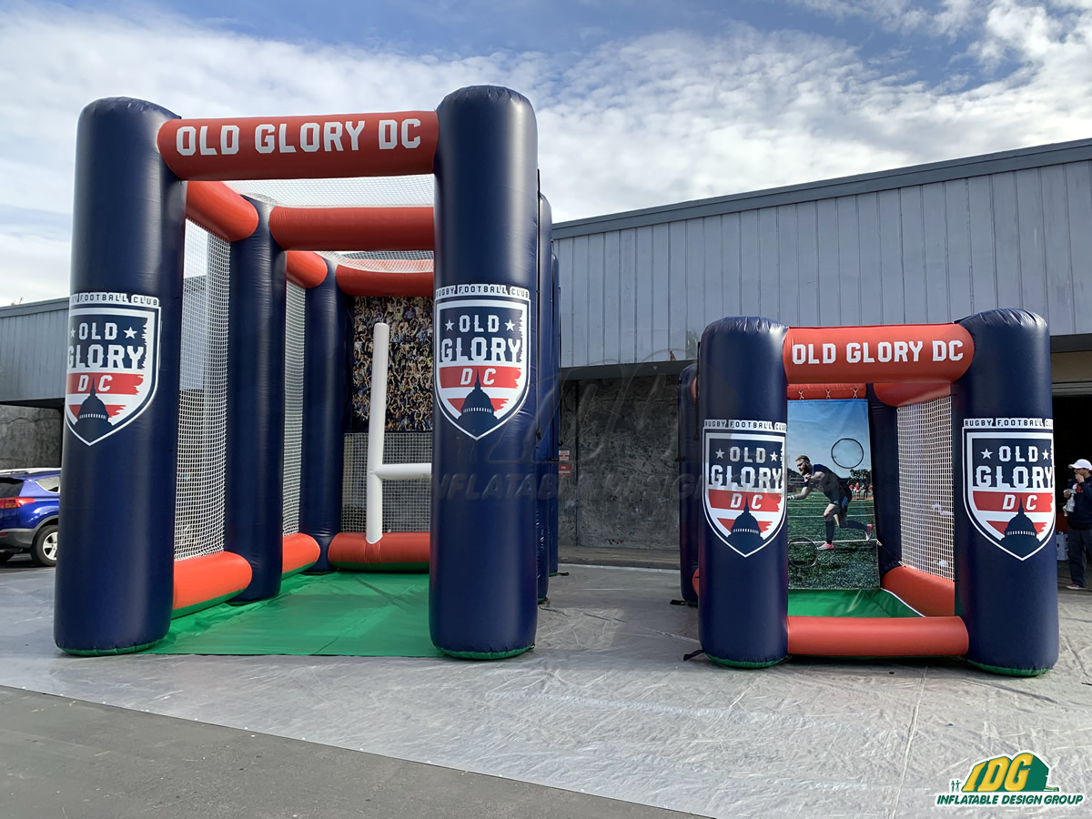 Old Glory DC Rugby Inflatable Try Kick and Flat Top