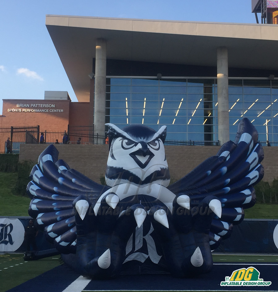 Inflatable Owl Entryway