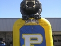 Inflatable Black Panther Entryway Front View