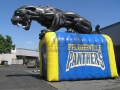 Inflatable Black Panther Entryway