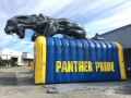 Inflatable Panther Tunnel Entryway