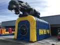 Inflatable Panther Tunnel
