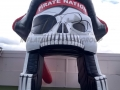 pike county custom inflatable skull entryway