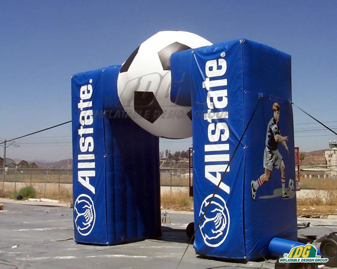 All State Inflatable Soccer Arch