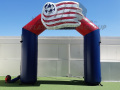 New England Revolution Inflatable Arch