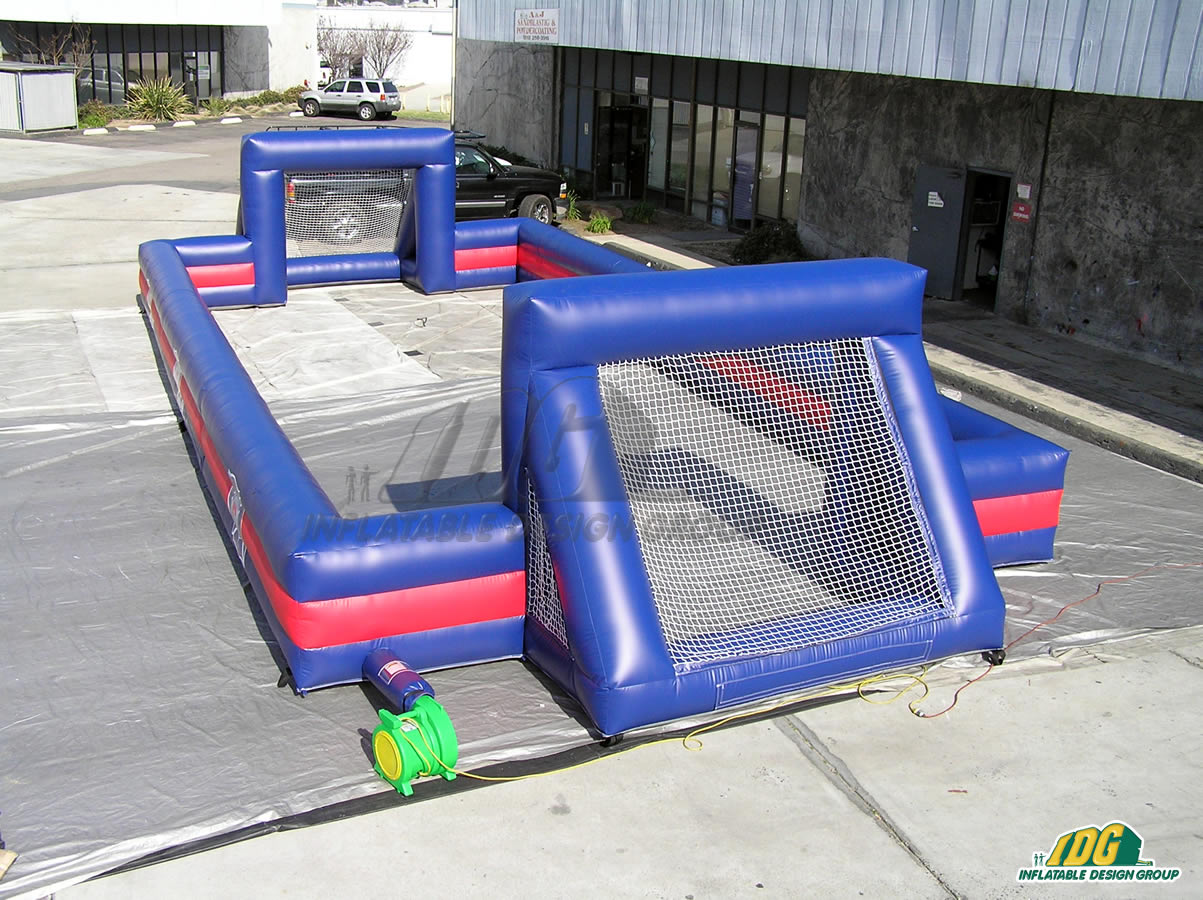 Chicago Fire Inflatable Soccer Field
