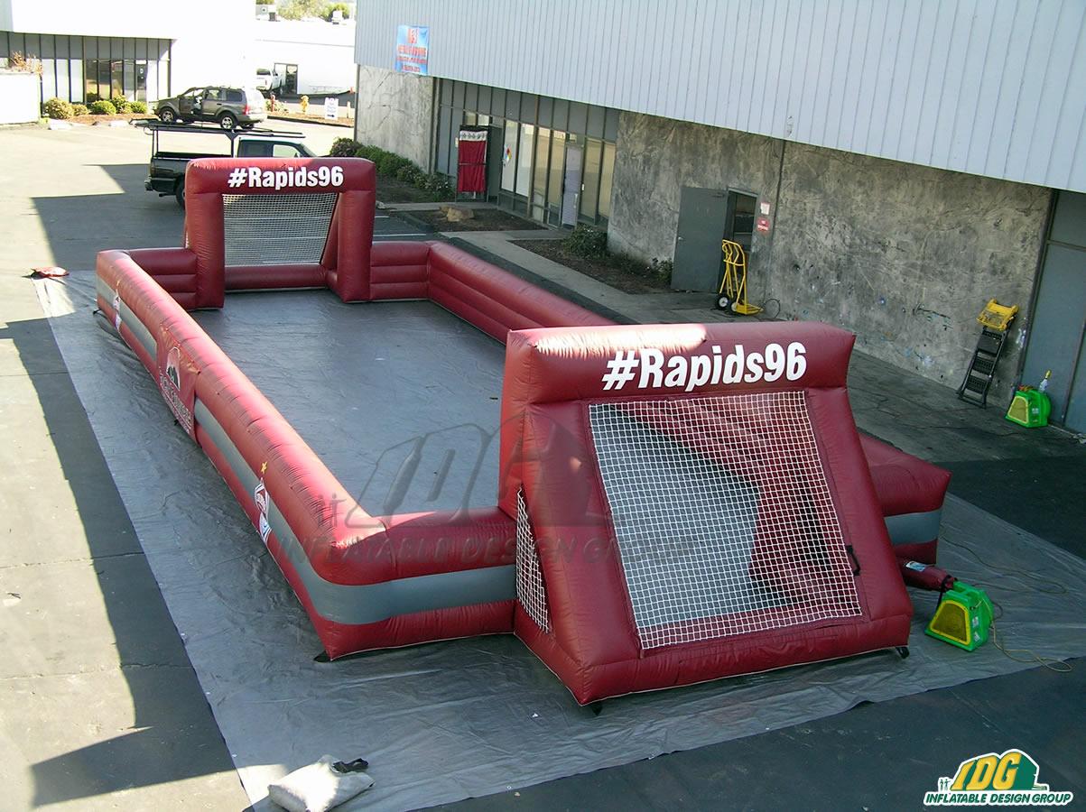 Colorado Rapids Inflatable Soccer Field