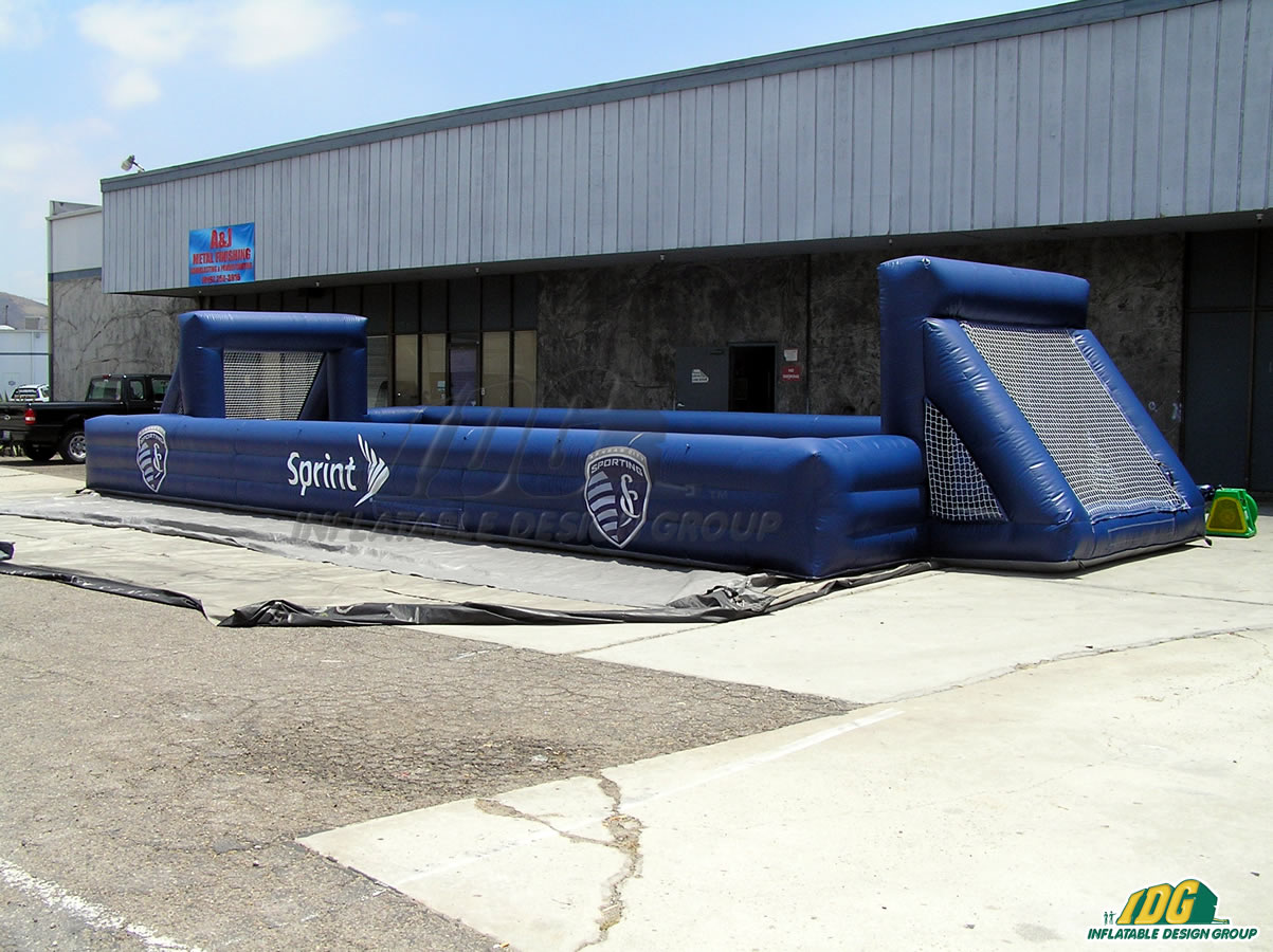 Sporting Kansas City Inflatable Soccer Field