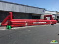 Red Card Cancer Inflatable Soccer Field