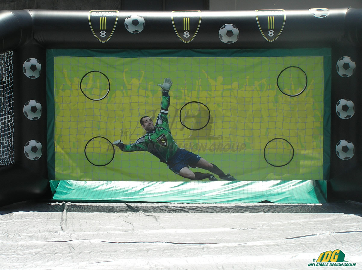 Everson Inflatable Soccer Challenge