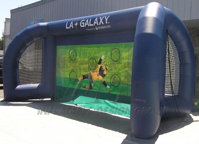 LA Galaxy Inflatable Soccer Challenge