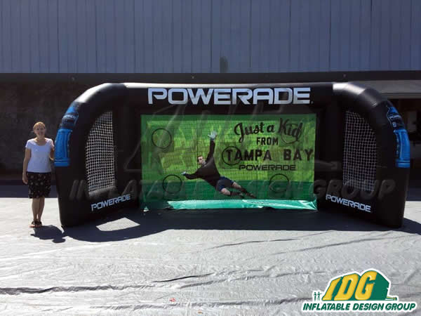 Powerade Inflatable Soccer Challenge