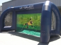 LA Galaxy Inflatable Soccer Challenge