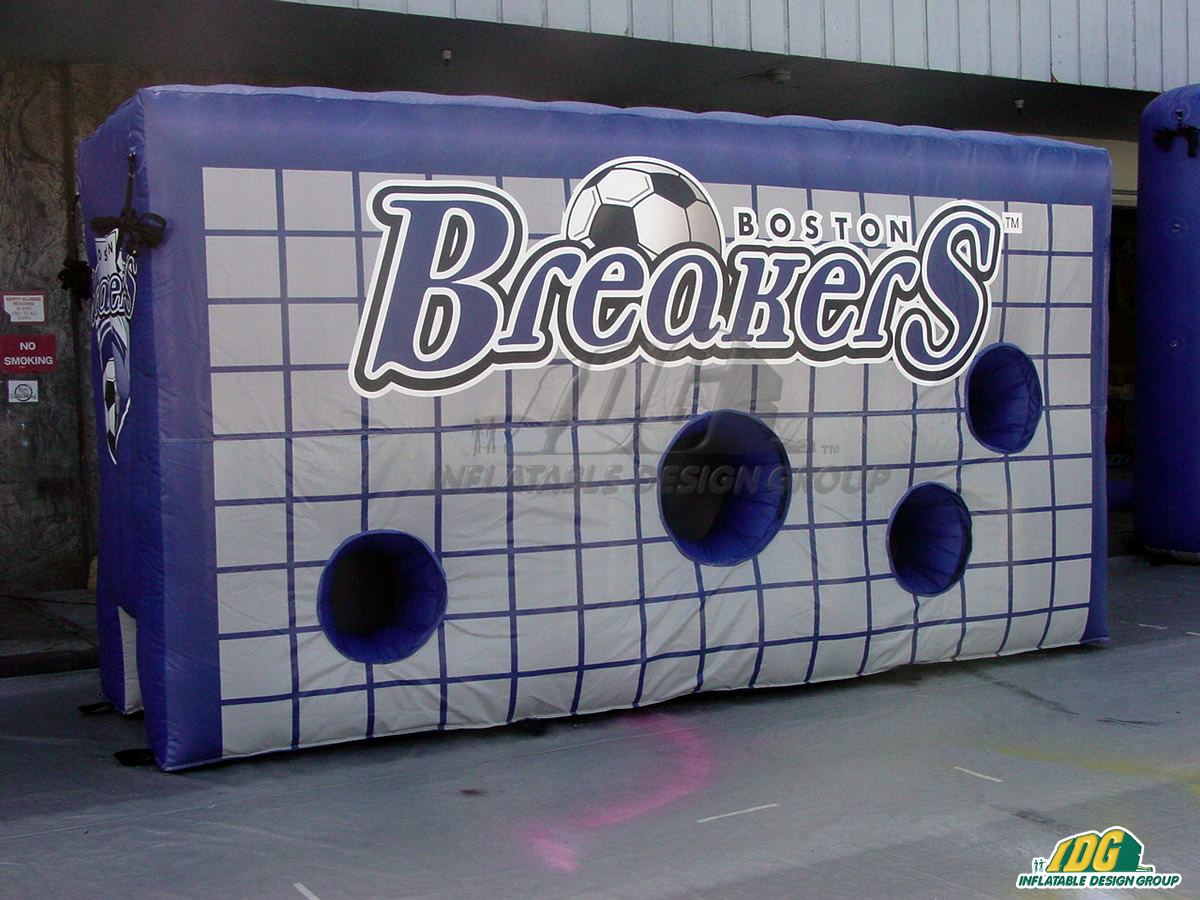 Boston Breakers Inflatable Soccer Target Wall