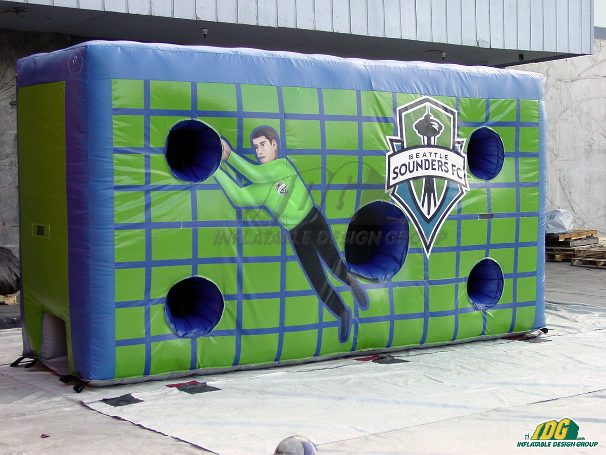 Seattle Sounders Inflatable Soccer Target Wall