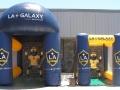 LA Galaxy Soccer Kick Inflatable