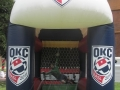 OKC Soccer Kick Inflatable