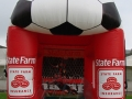 State Farm Soccer Kick Inflatable