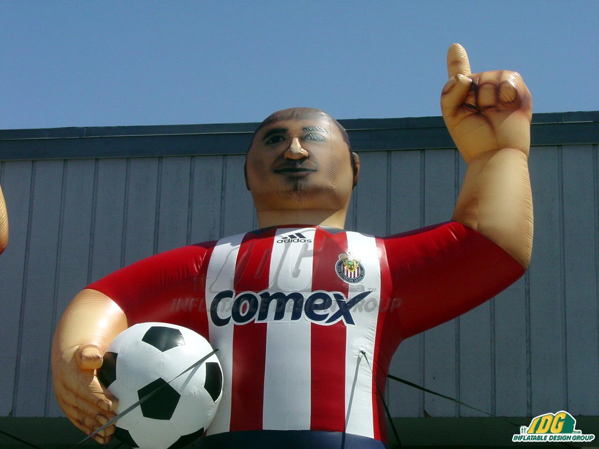 Chivas de Guadalajara Inflatable Mascot