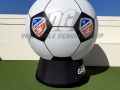 FC Cincinnati Inflatable Soccer Ball