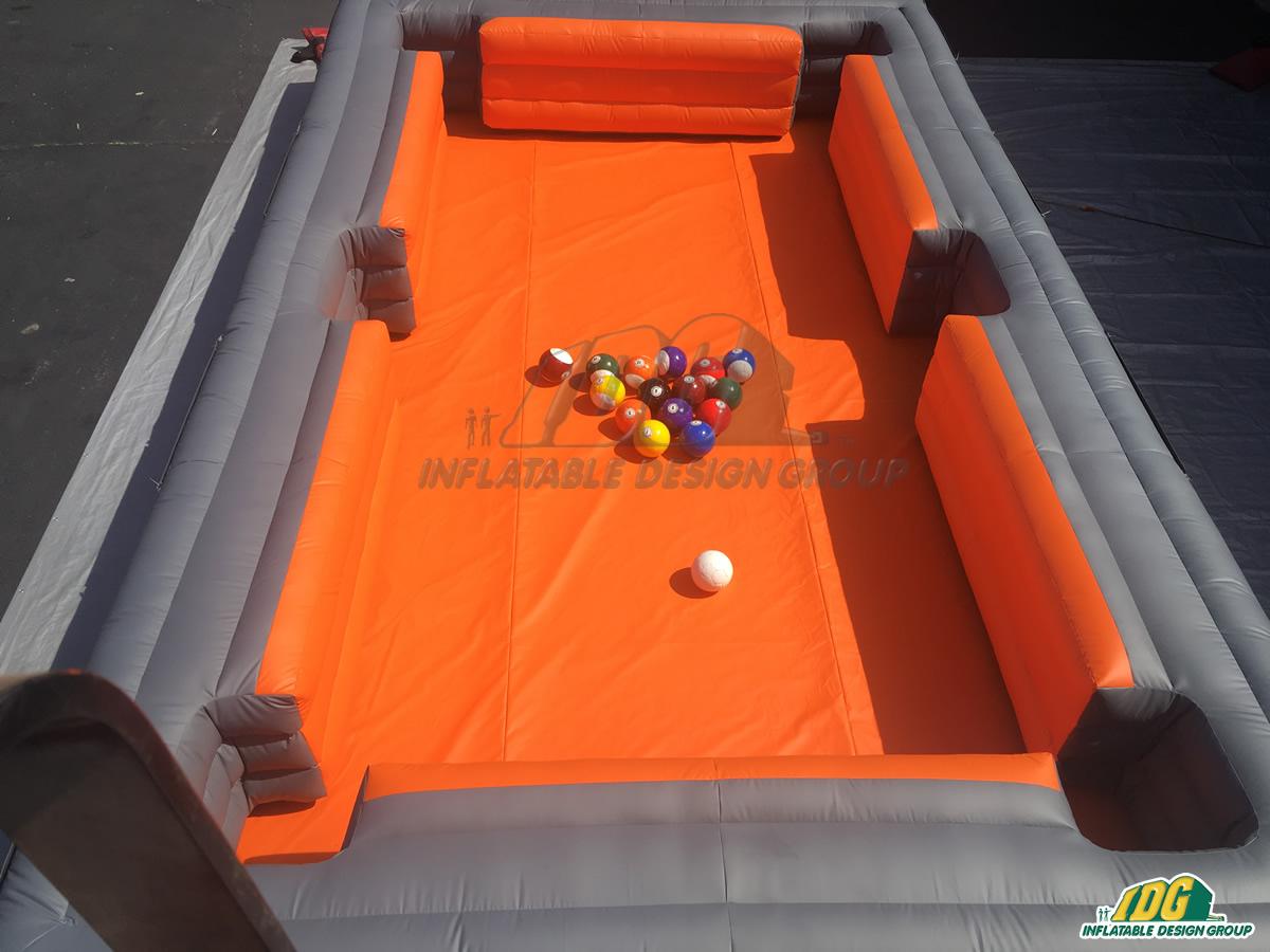 Houston Dynamo/Dash Inflatable Snooker Ball