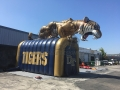 Inflatable Tiger Runout Tunnel Side View