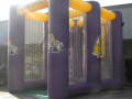 albany custom inflatable field goal kick
