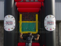 big 12 custom inflatable field goal kick