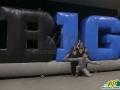 big ten custom inflatable logo block