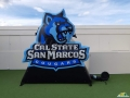 csu san marcos custom inflatable logo block