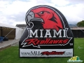 miami ohio custom inflatable logo block