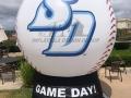 usd custom inflatable baseball
