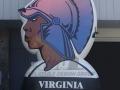 virginia state custom inflatable logo block