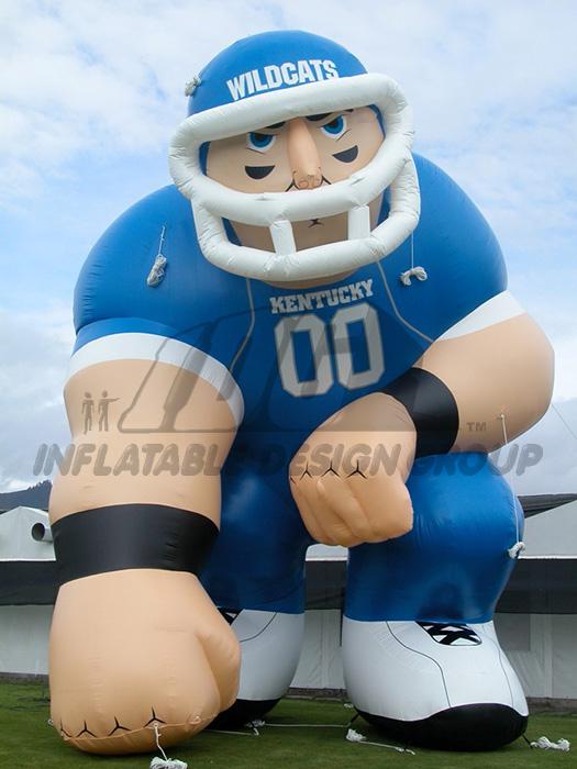 kentucky custom inflatable football player mascot