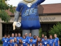 thomas more custom inflatable mascot